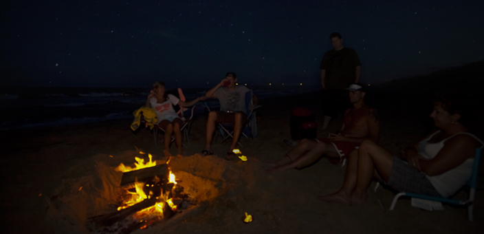 Beach Bonfires