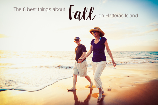 Fall on Hatteras Island