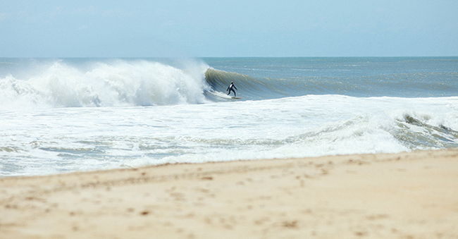 Hatteras Island has some of the very best surf on the East Coast.