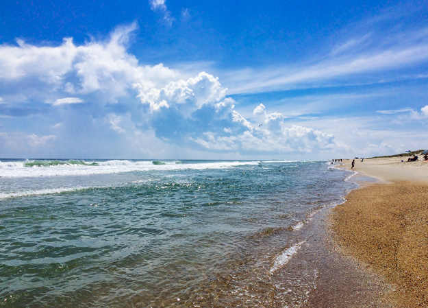 Hatteras Island Beaches are Wide Open